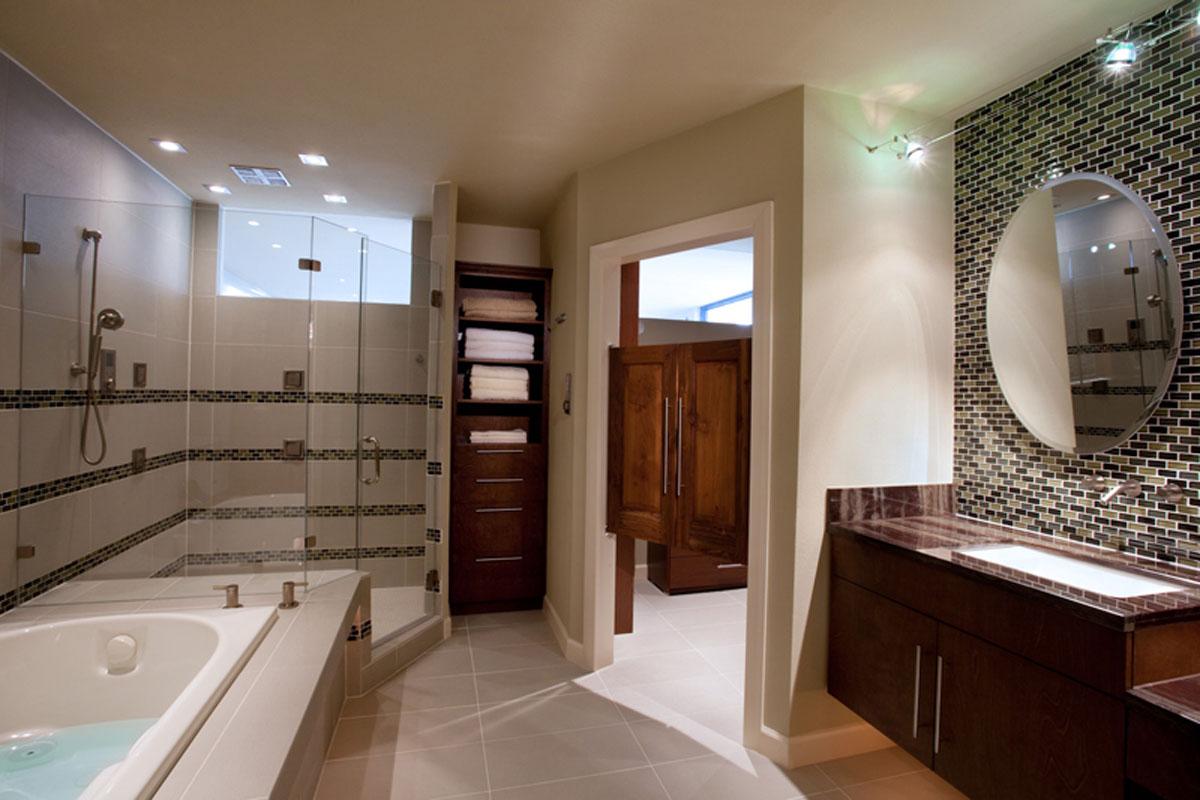 Bathroom renovation remodeling ideas eklektik for Bathroom ideas houston
