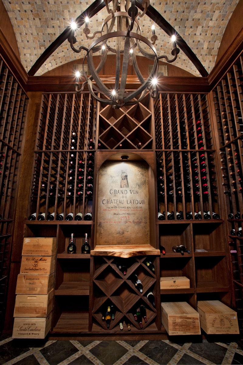 Portfolio interior decorator eklektik interiors houston for Wine room design ideas