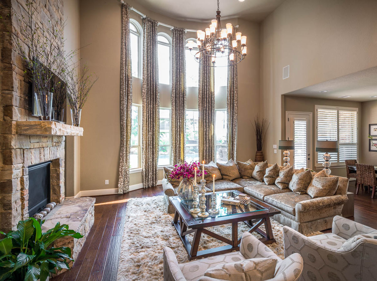 transitional living rooms designs